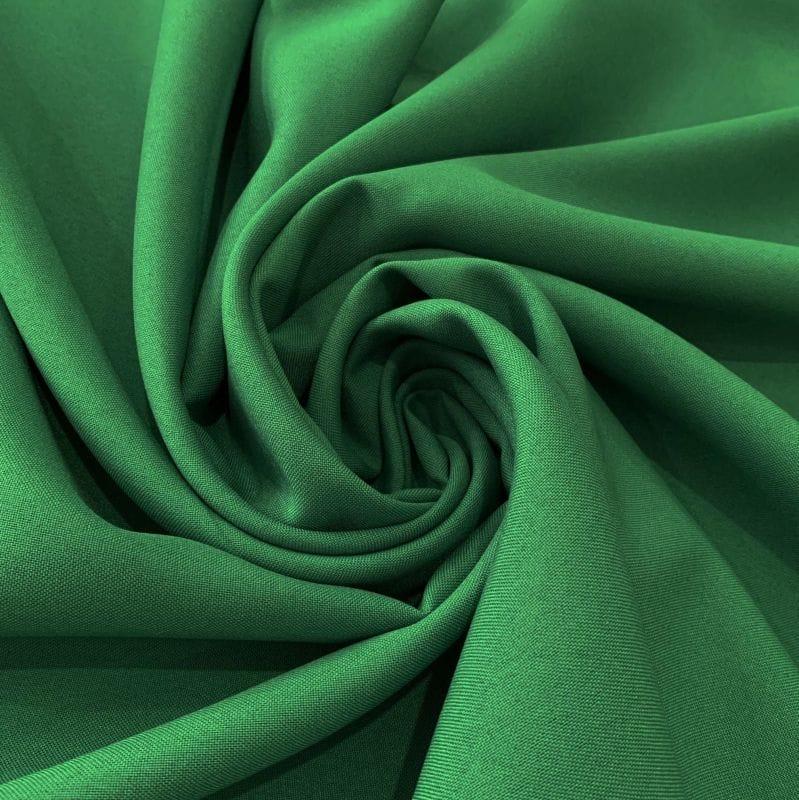 Oxford Liso Verde Bandeira • Luema Tecidos