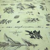 Tecido Cetim Toque de Seda Rosas Fundo Preto • Luema Tecidos
