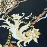 Tecido Crepe de Chine 100% Seda Top Elos Cobra • Luema Tecidos