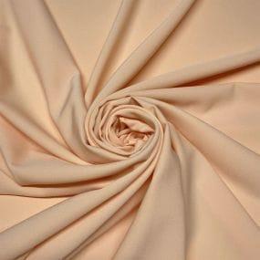 Tecido Cetim Toque de Seda Poá Laranja • Luema Tecidos